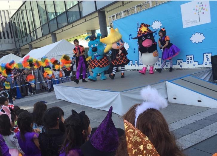 ソラマチのハロウィンパレード