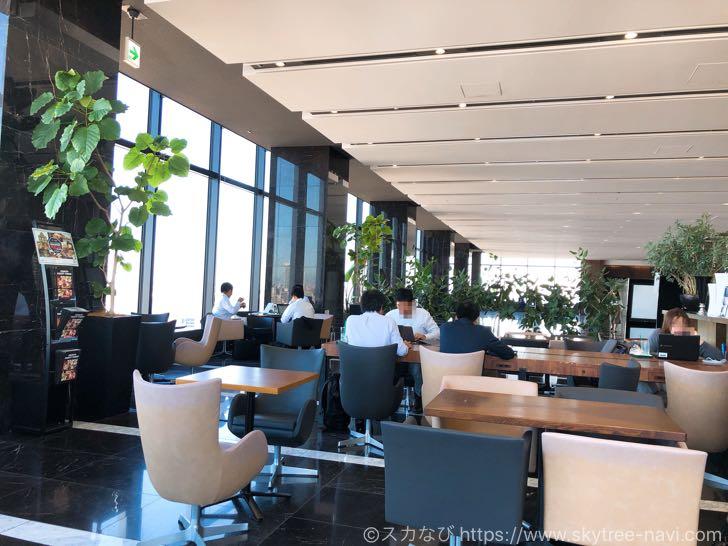 プロント 東京スカイツリーイーストタワー店は最高の眺めの中でコーヒーが楽しめる【穴場】