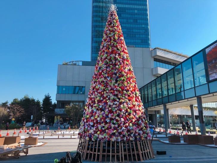 2018年ソラマチ クリスマスイルミネーション