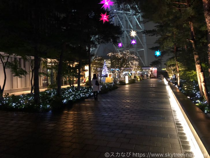【2018年クリスマス】スカイツリー・ソラマチのイルミネーションを現地レポ!ツリーと花の美しさに見惚れること間違いなし!