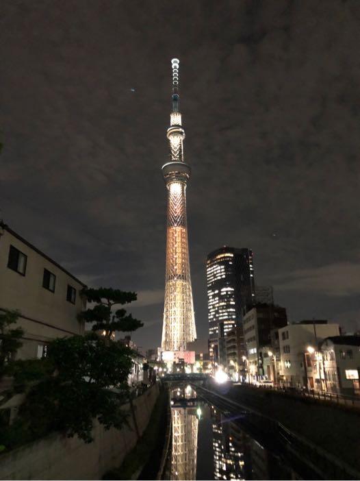 東京スカイツリー ライティング ライトアップ