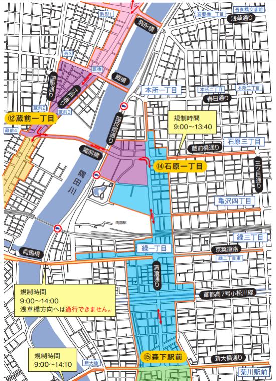 東京マラソンのコース