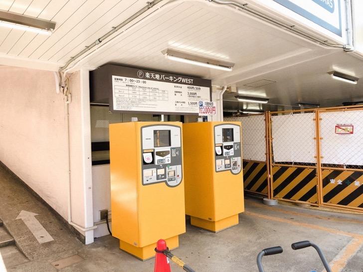 錦糸町パルコの駐車場