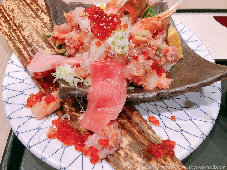 錦糸町パルコ すみだフードホール 二代目 野口鮮魚店