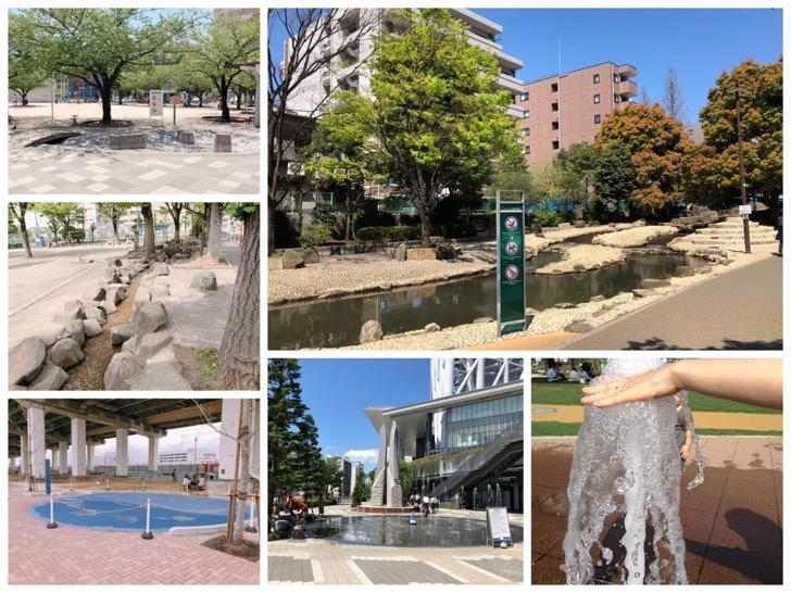 墨田区内の水遊びができる場所・公園・遊び場