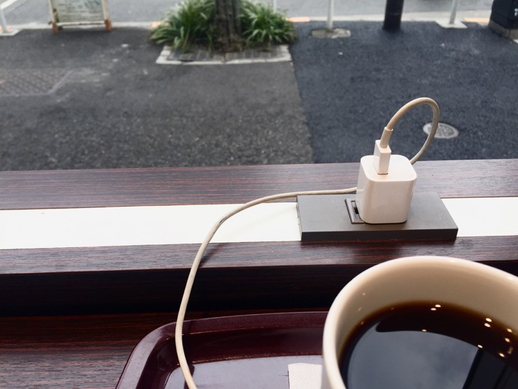ソラマチの電源カフェ
