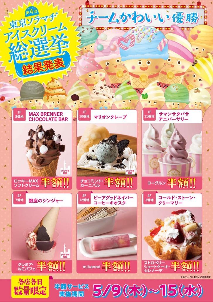 アイスクリーム総選挙