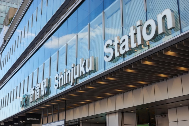 新宿駅から東京スカイツリー