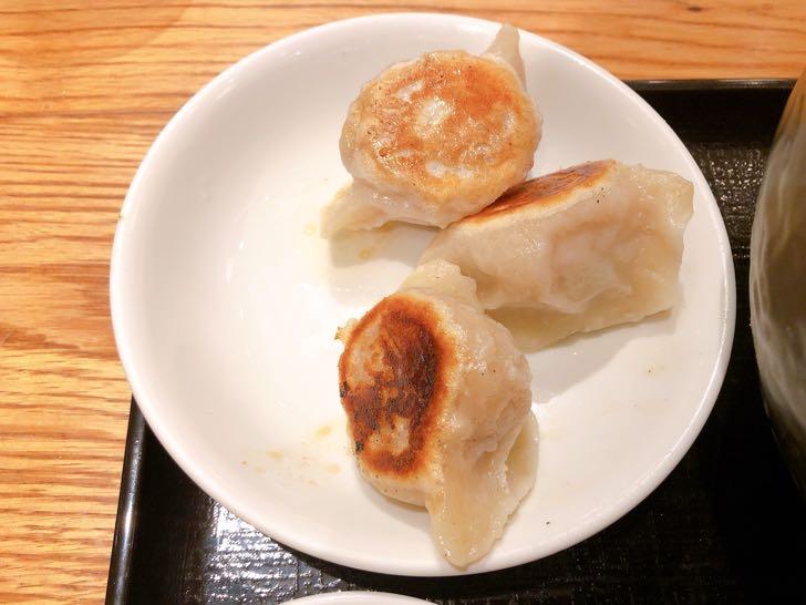 宙寅屋 紅麻辣担々麺と肉肉餃子