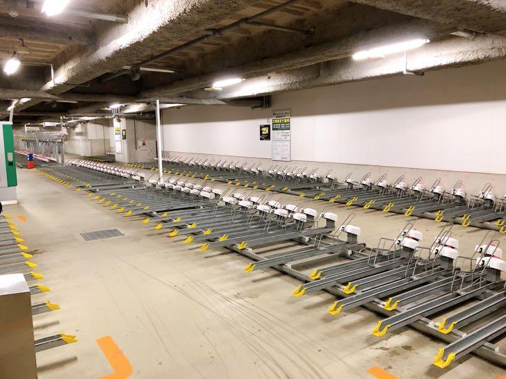 ソラマチ駐輪場