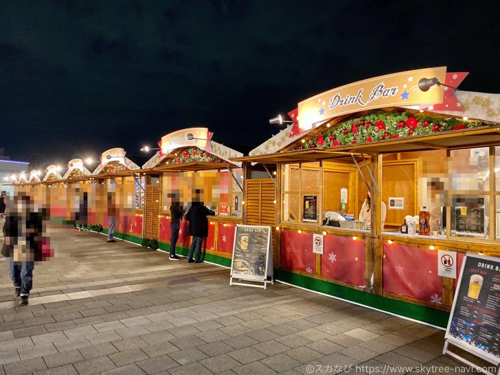 スカイツリー ソラマチ クリスマスマーケット2019