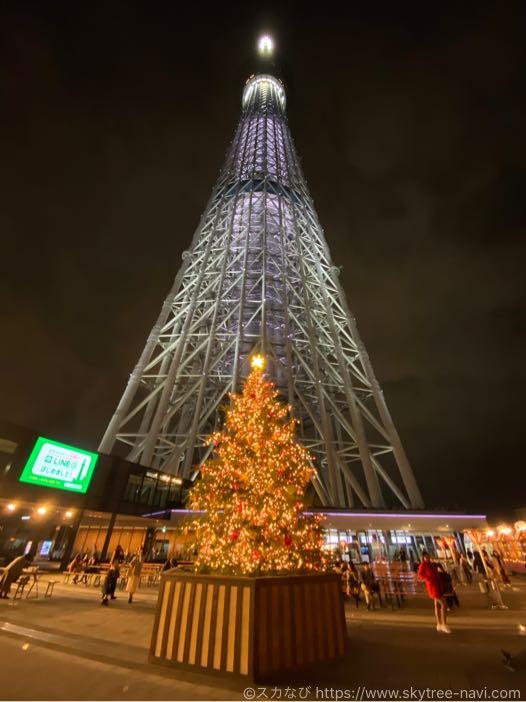 スカイツリー クリスマスライティング2019