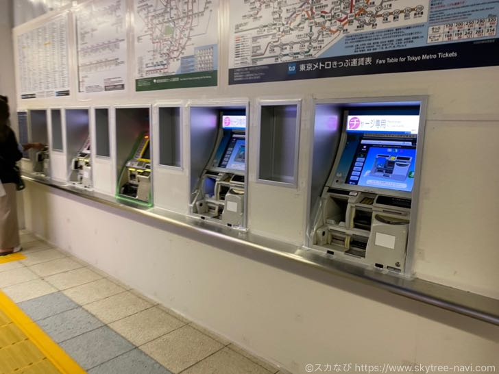 錦糸町の地下鉄改札