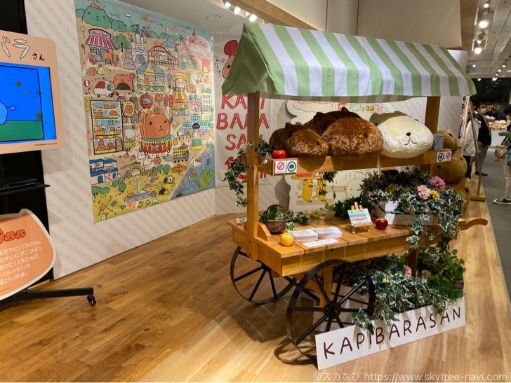 カピバラさん 15周年記念展示