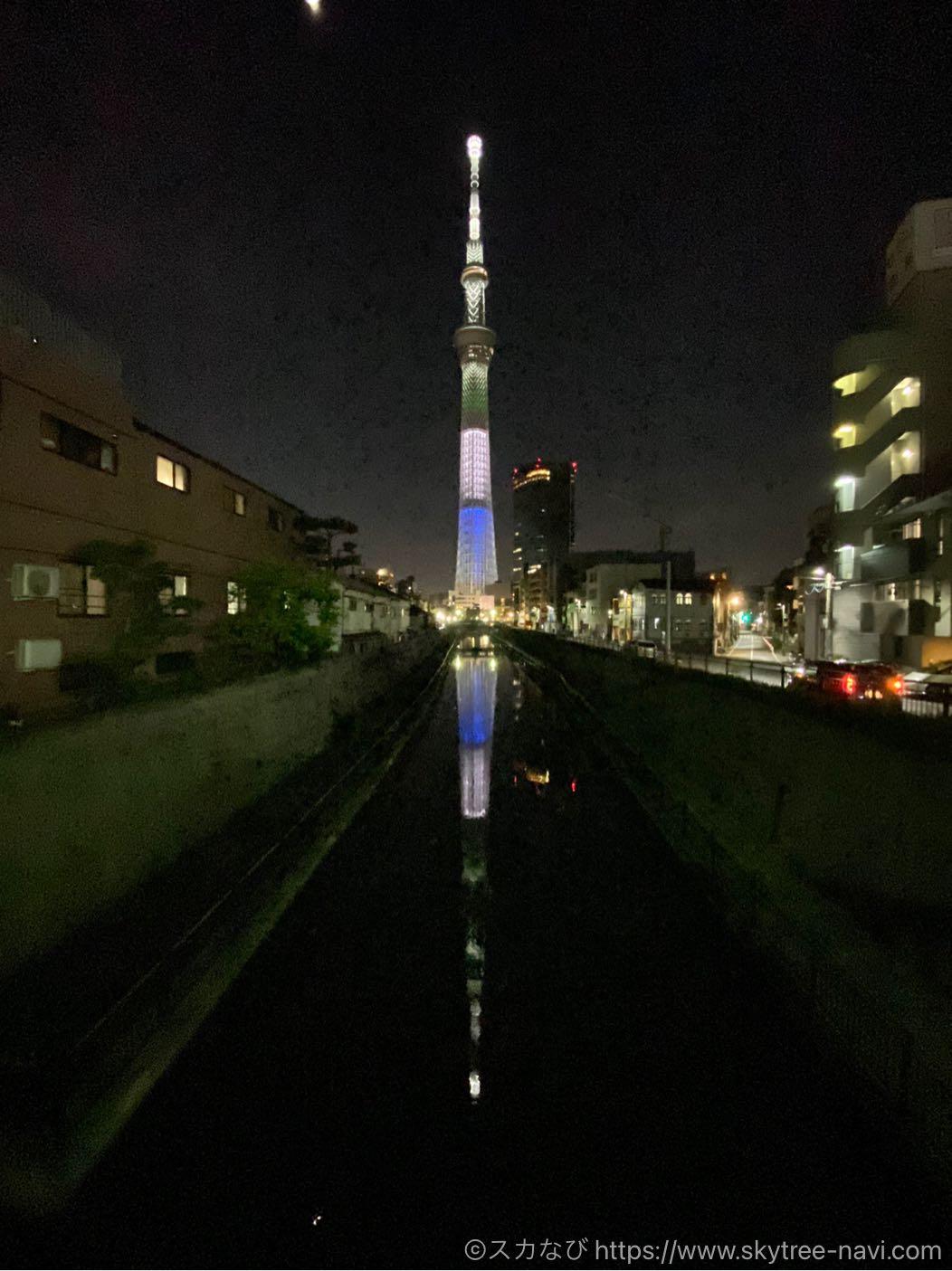 スカイツリー 聖火リレー特別ライティング 香川県
