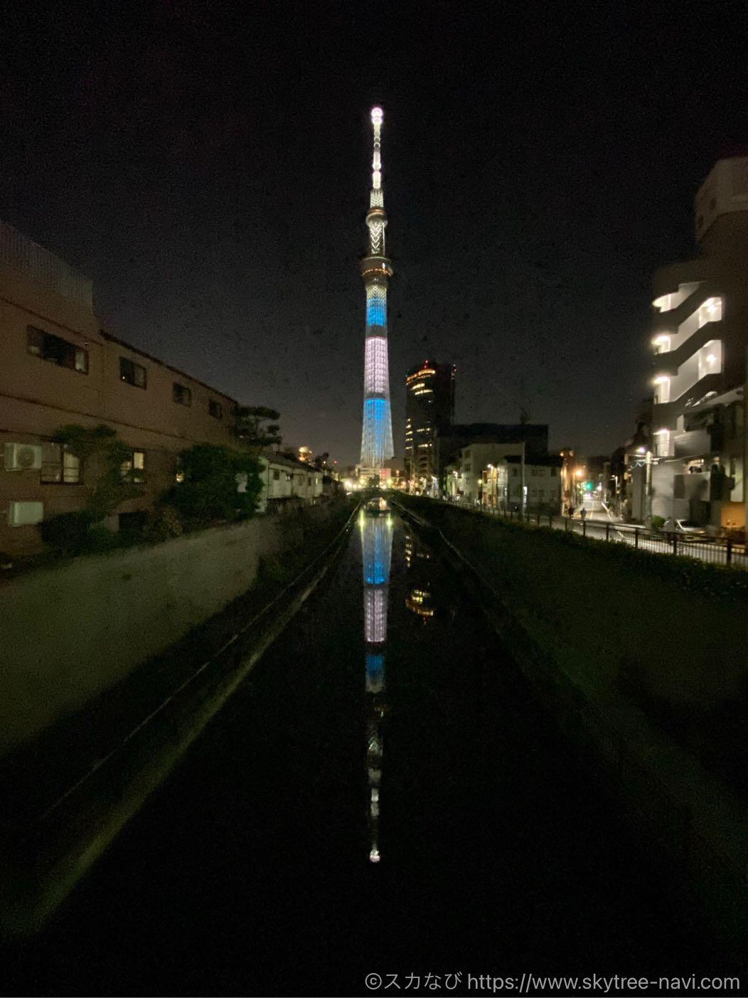 スカイツリー 聖火リレー特別ライティング 兵庫県