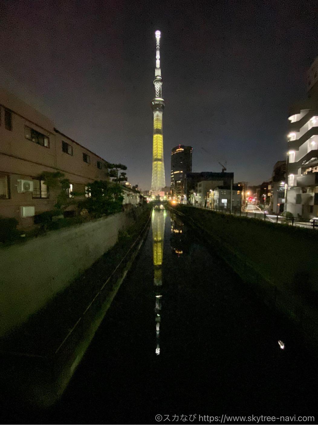 スカイツリー 聖火リレー特別ライティング 福井県